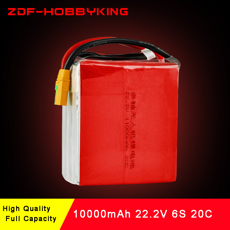 ZDF Power 6S 22 2V 11000mah 20C Special battery for model aircraft plant protection machine Quadcopter