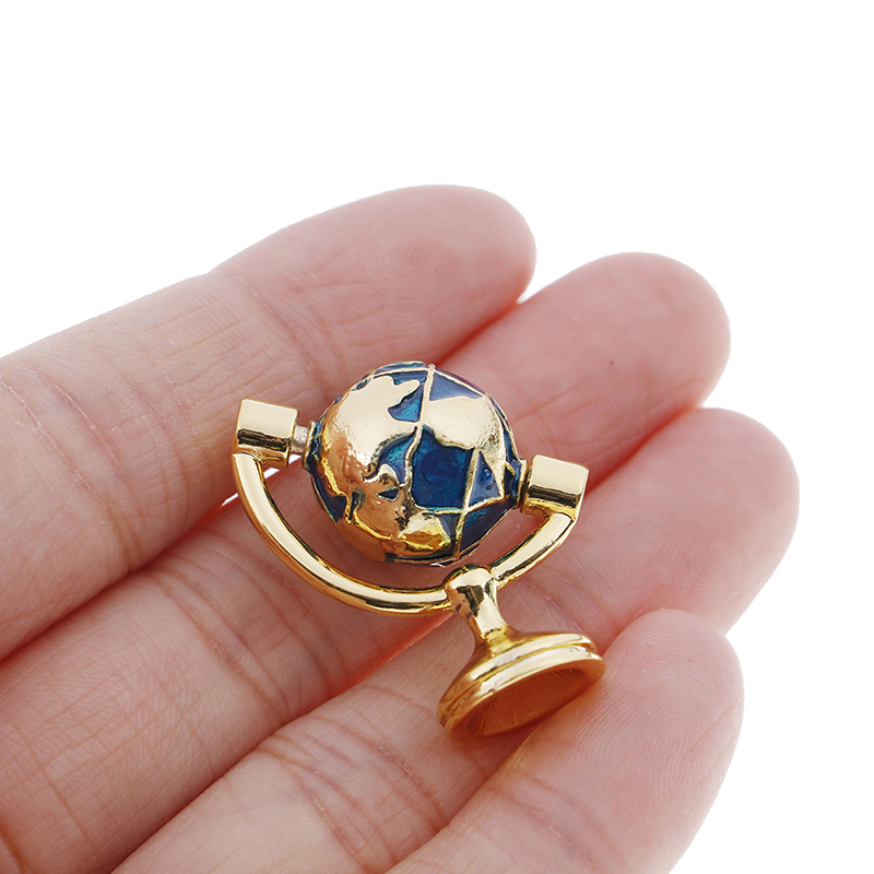 1/12 Dollhouse Miniature Accessories Mini Globe Simulation Model Toys For Doll House Decoration