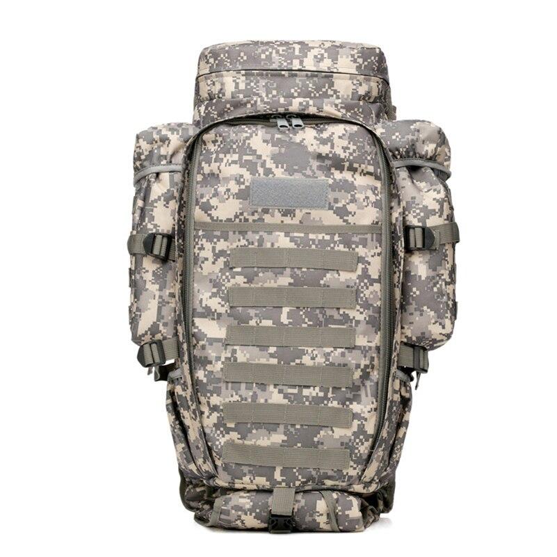 Acampar al aire libre senderismo mochila 5 Color combinación multifuncional mochila de gran capacidad mochila - 5