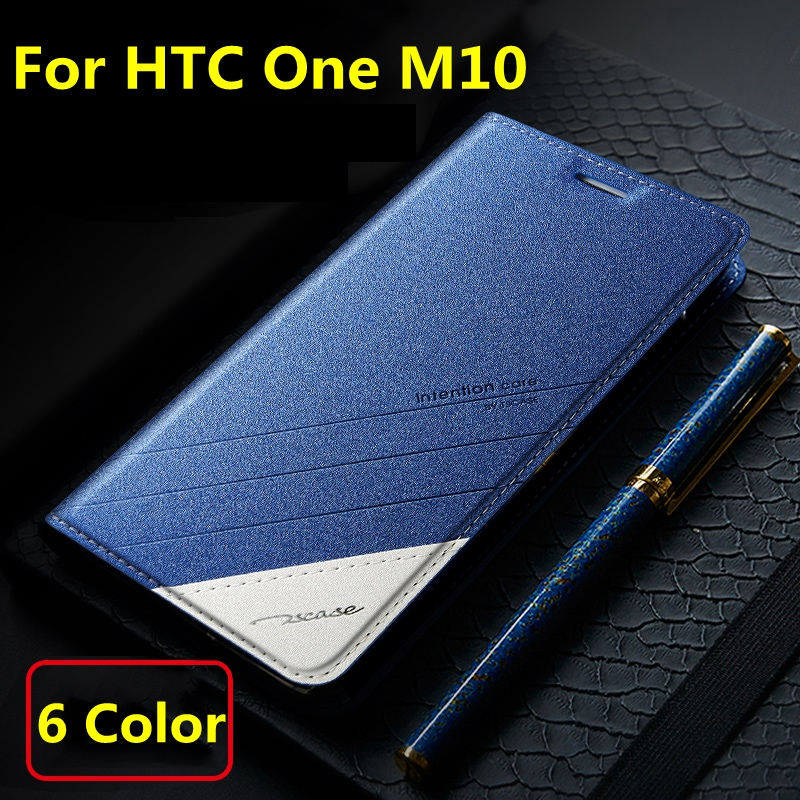 4 Colors For HTC One M10 Original Tscase Brand Top Quality Leather Stand Flip Cover Magnet