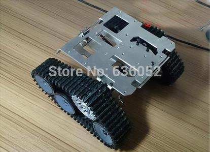 RC Tank Chassis Wall-e Caterpillar Tractor Crawler Intelligent Robot Car Obstacle Avoidance DIY RC Toy UNO R3 Raspberry Pi official doit rc metal tank chassis wall caterpillar tractor robot wall e crawler wall brrow land car diy rc toy remote control