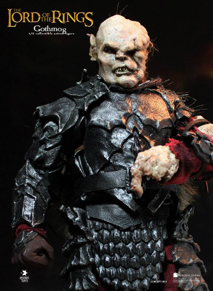 1/6 scale Figure doll The Lord of the Rings orc Gothmog.12 action figures doll.Collectible figure Model toys and gifts 1 6 scale full set soldier the lord of the rings elven prince legolas action figure toys model for collections
