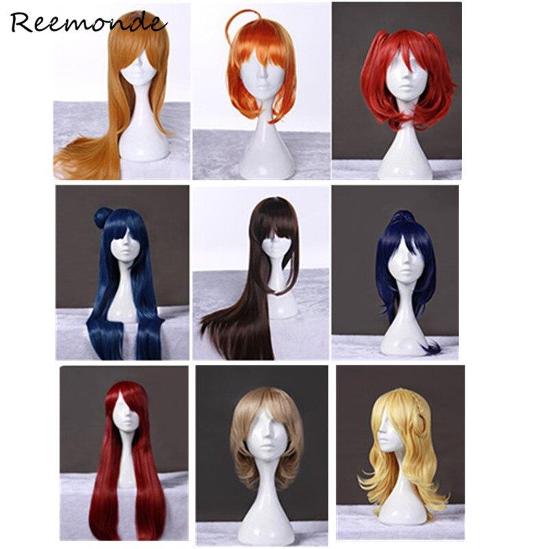Anime LoveLive Sunshine Aqours Wigs Cosplay For Love Live Wigs Long Medium Short For Women Girls Takami Chika Yoshiko kanan Dia