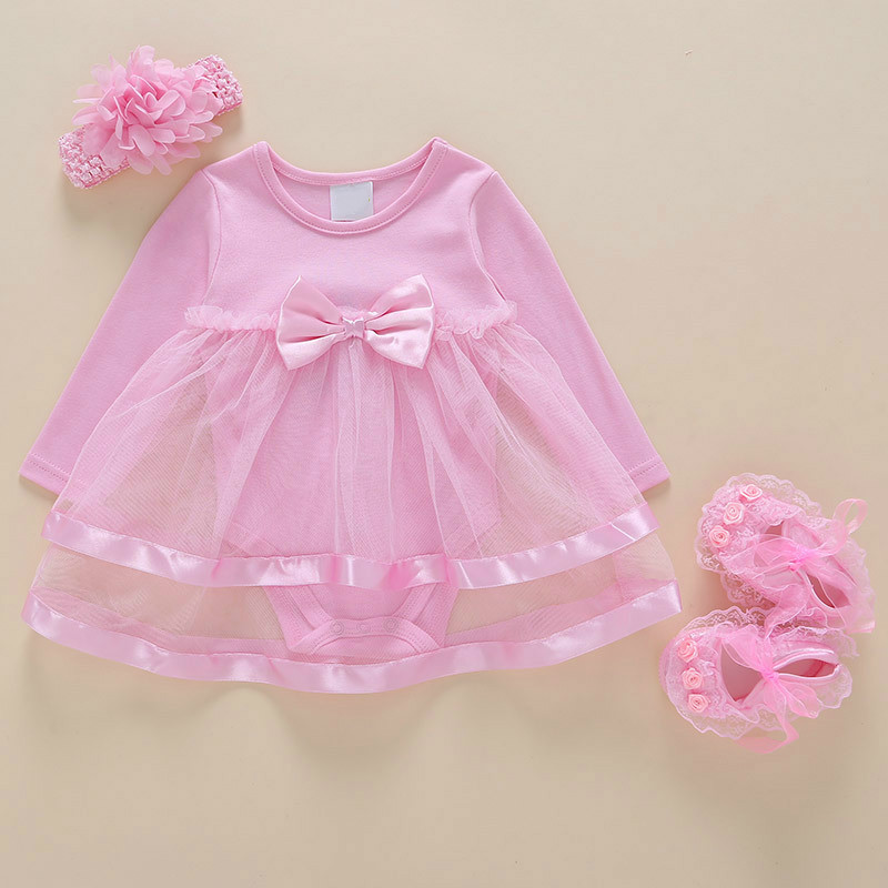 9a29f230db24 Dropwow New Born Baby Girls Infant Dress clothes Summer Kids Party ...