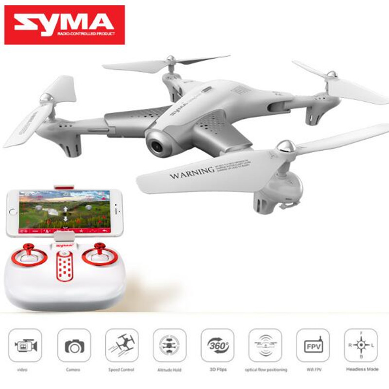 цена на Smart Foldable FPV RC Quadcopter Optical Flow Drone With 720P HD Wifi Camera Real-time Altitude Hold Flow Hover Headless Mode