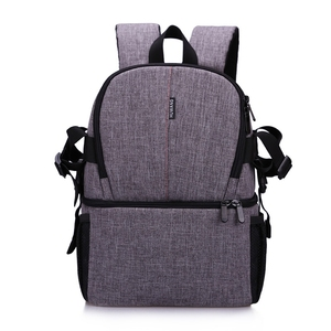 Image 2 - Waterproof Camera Bag Photo Photography Backpack For Polaroid Canon Nikon Sony DSLR Shoot Cameras Portable Travel Pouch Bags