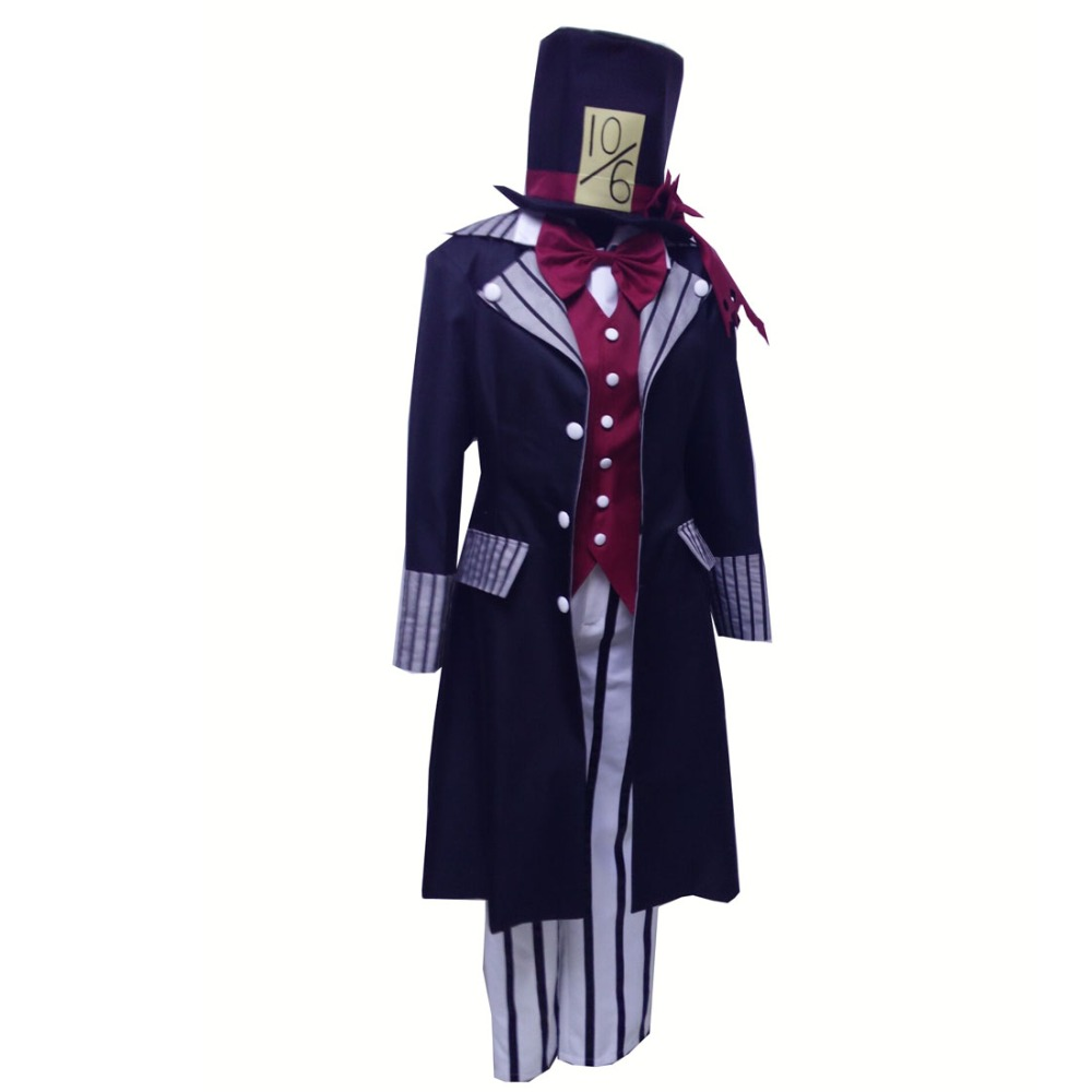 2017 Black Butler Undertaker Cosplay Costume