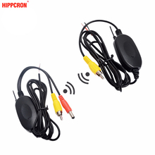 2.4G Wireless Video Transmitter Receiver Kit for Car Rear View Camera and DVD Monitor Screen Reverse Backup Rearview Cam