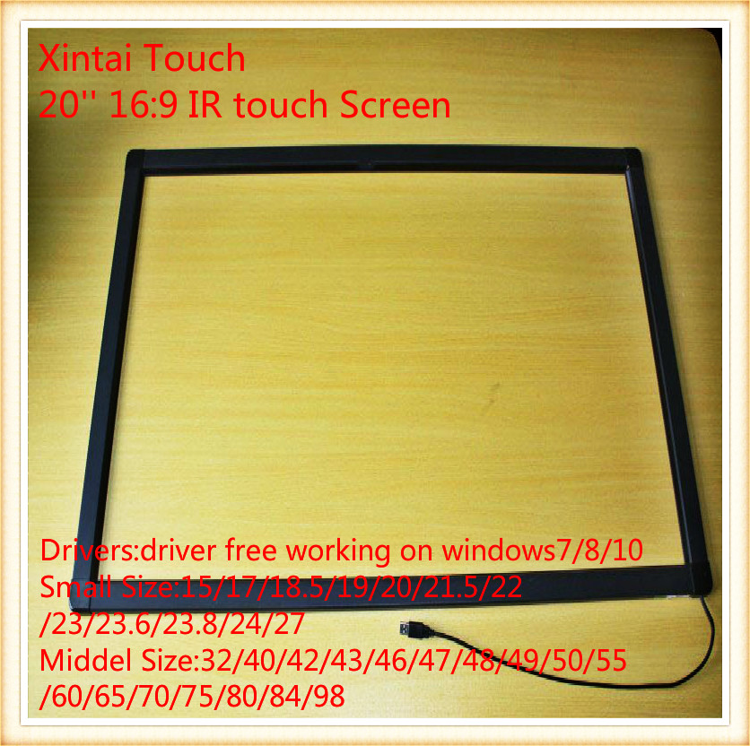 20 pollice touch screen a infrarossi20 pollice touch screen a infrarossi