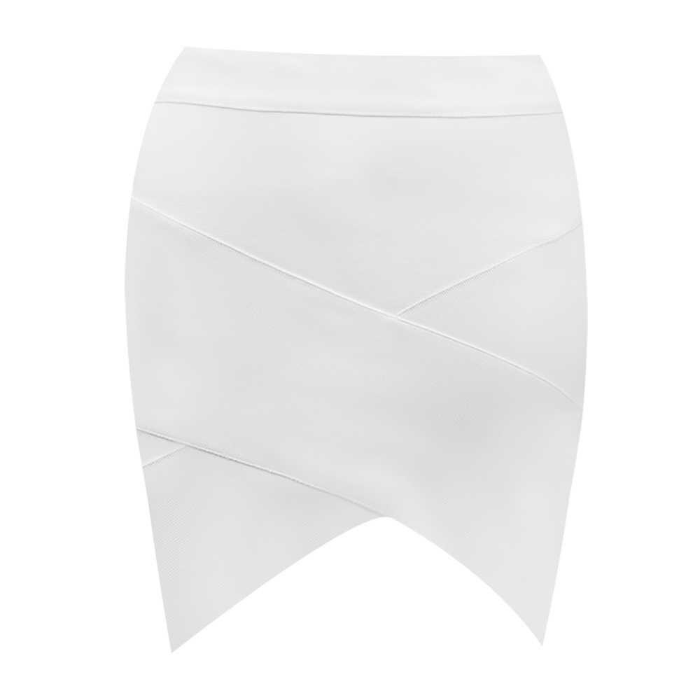 Gratis Verzending Nieuwe Zomer Jurk Vrouwen 2019 Sexy Off de schouder 2 Stuks Wit Bandage Jurk Elegante Feestjurk Vestido