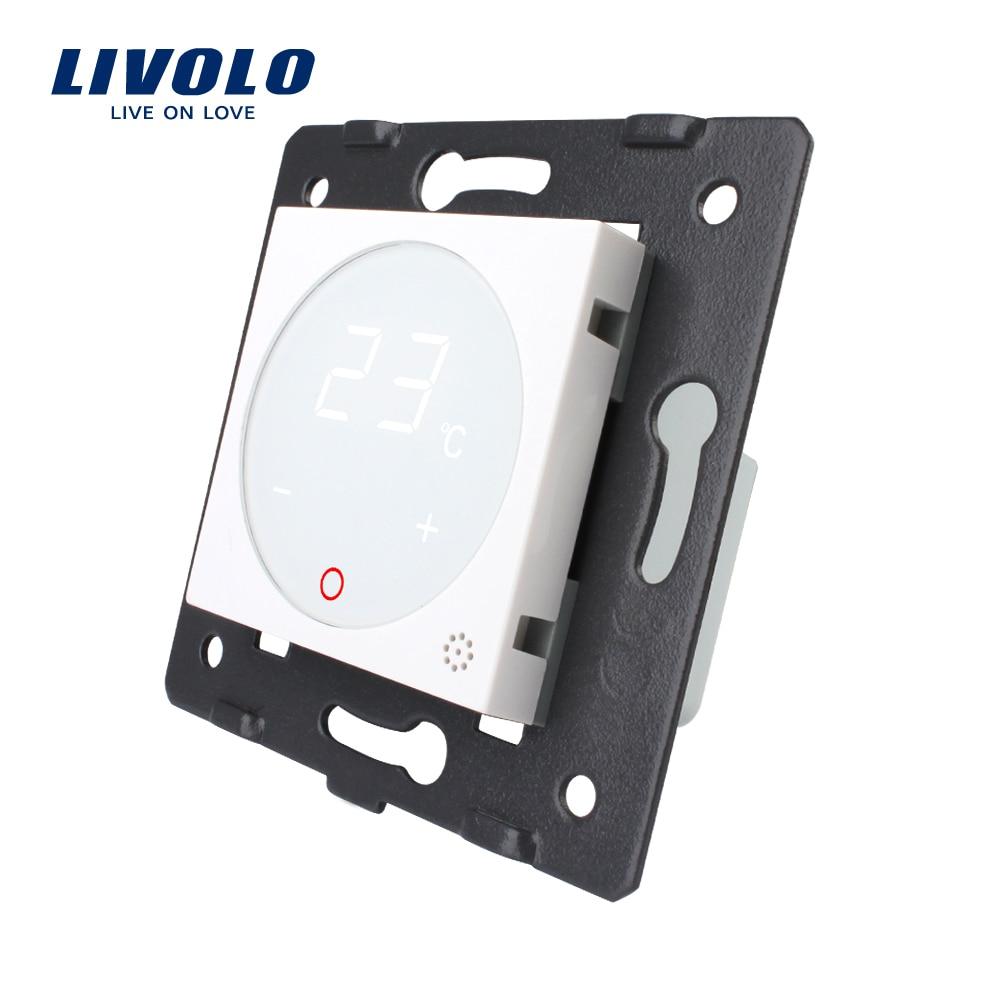 Livolo termostato estándar de la UE de Control de la temperatura (sin panel de vidrio) calefacción dispositivo AC 110-250 V C7-01TM-11