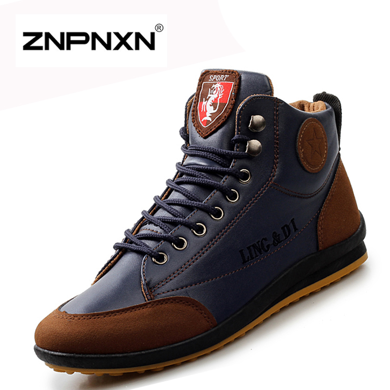 Popular Casual Leather Boots for Men-Buy Cheap Casual Leather