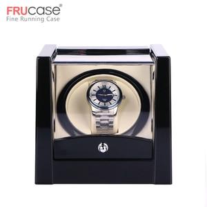 Image 1 - שחור יחיד שעון המותח עבור אוטומטי שעונים תיבת שעון אוטומטי המותח אחסון תצוגת מקרה תיבה