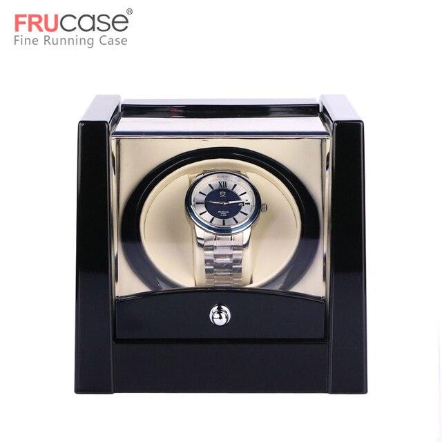 שחור יחיד שעון המותח עבור אוטומטי שעונים תיבת שעון אוטומטי המותח אחסון תצוגת מקרה תיבה