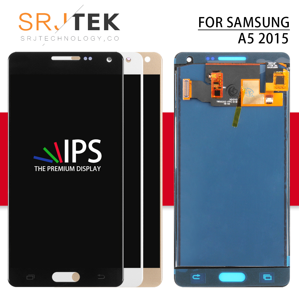 TFT For Samsung Galaxy A5 2015  LCD A500 Display Touch Digitizer Sensor Glass Assembly Can/Cant Adjust A500 A500F A500FU A500HTFT For Samsung Galaxy A5 2015  LCD A500 Display Touch Digitizer Sensor Glass Assembly Can/Cant Adjust A500 A500F A500FU A500H