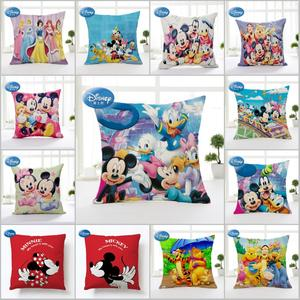 Disney Pillow Cushion-Cover Winnie Cartoon for Children 45x45cm Mermaid Princess-Decorative/nap