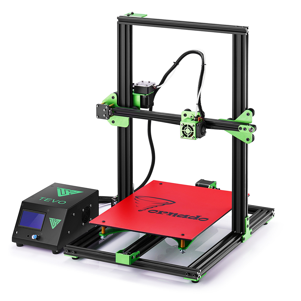 где купить TEVO Tornado 3D Printer Fully Assembled Aluminium Extrusion 3D Printer High Printing Quality impresora 3d printer With Extruder дешево