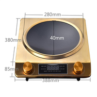 3500W Household Induction Cooker Large Power Concave Induction Cooker Waterproof Electromagnetic Furnace Z35 3501