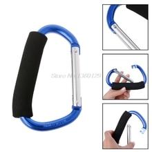 1pc Climbing Hook Baby Stroller Handle Shopping Bag Clip Carrier Pushchair Hanger