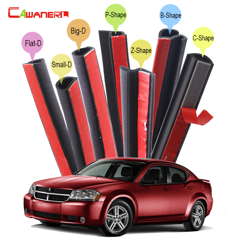 Cawanerl Whole Auto Seal Sealing Strip Kit Fillers Weatherstrip Car Styling For Dodge Spirit Stratus Intrepid Avenger Neon