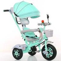 Child Tricycle Bicycle 1 6year old Wheelchair Kids Bike Three Wheels Stroller 2 In 1 Buggies 3 Wheel Stroller Tricycle