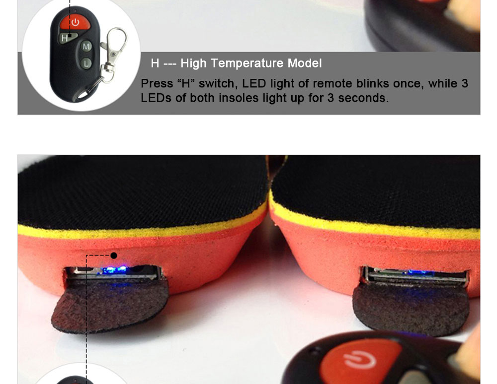 Wireless Controll Electric Heated Insoles_12