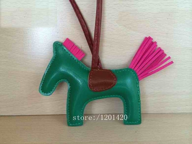 Luxury Women Horse Shape Tote Charm Bag Bugs Fashion Lady Girl Leather Key Ring Key Chain Handbag Shoulder Bag Charm