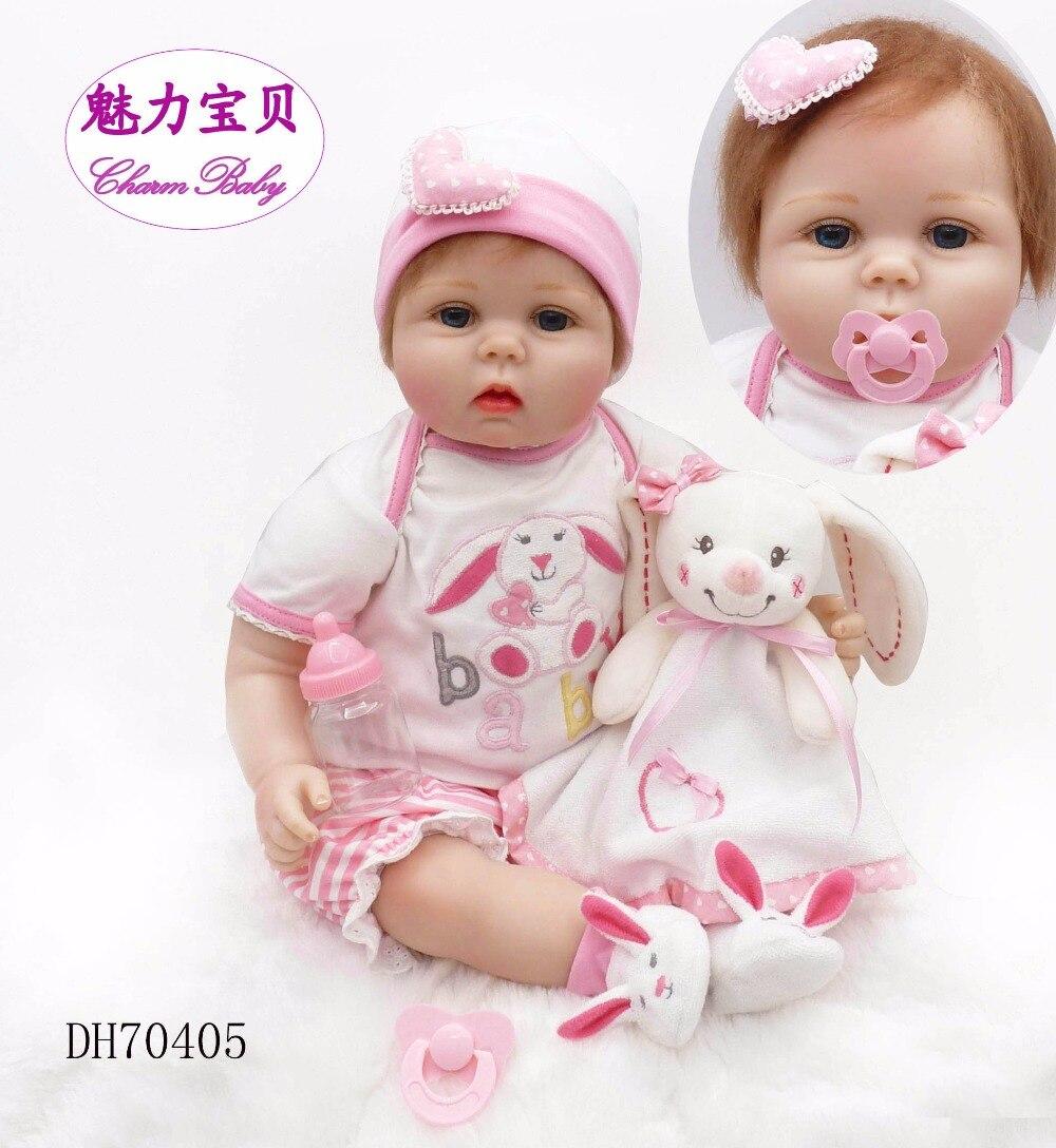 22 pouces 55 cm belle poupée cadeau d'anniversaire cadeau de vacances belle poupée