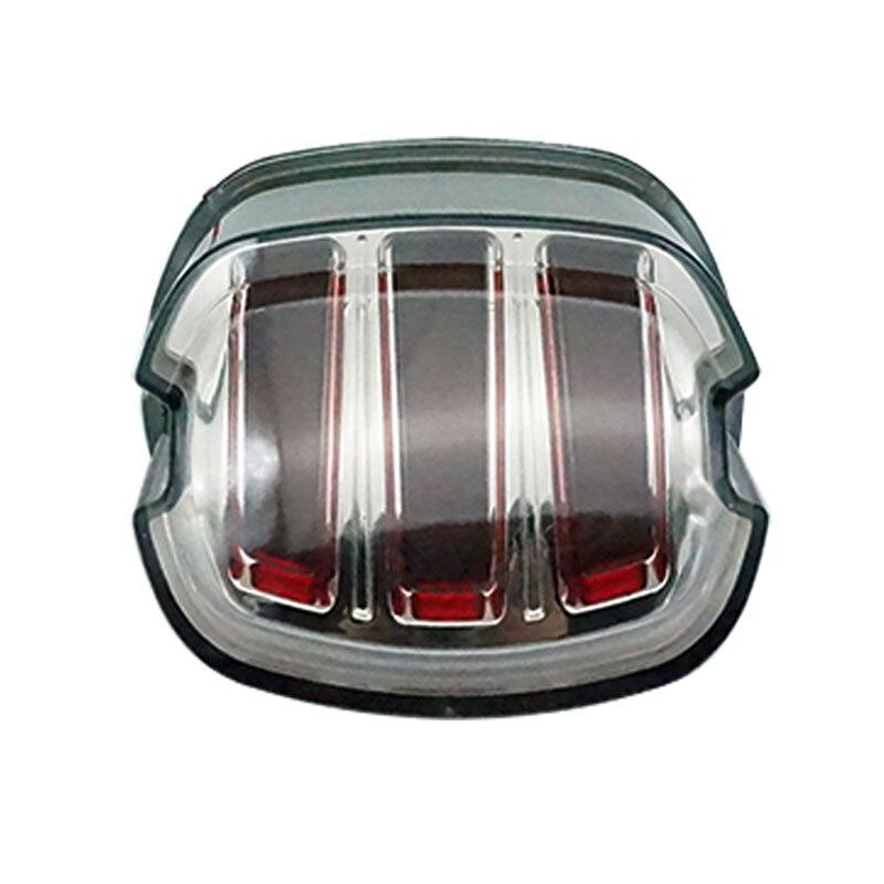 Les plus récents feux arrière led frein à led DRL lumière de plaque d'immatriculation pour Harley Sportster XL883 Dyna moto route de tourisme