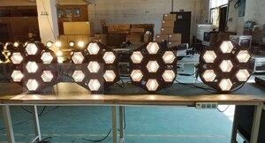 Image 5 - Led ランプ 7X100W レトロフラッシュ光輸送ライトディスコパーティープロの舞台効果光 dj 機器