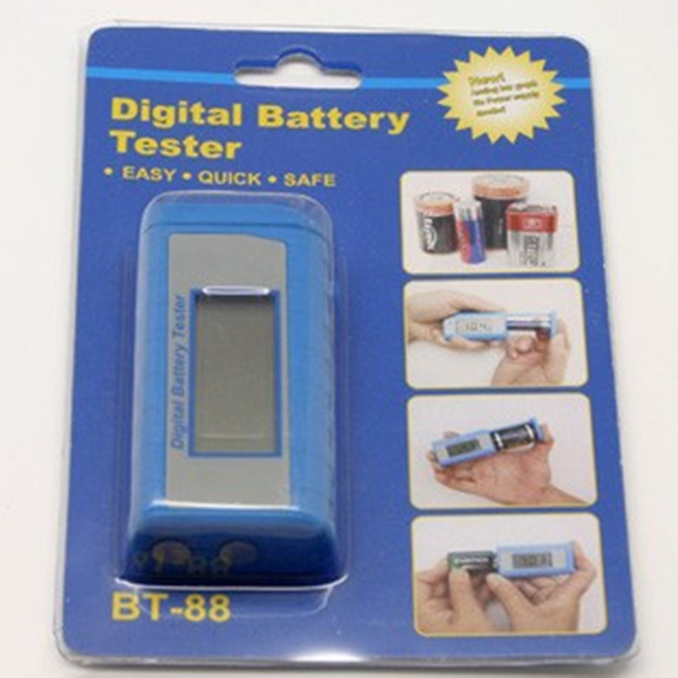 BT 88 Cheaper LCD Digital Battery Testers Household Battery Tester Perfect Companion For Travel Practical And