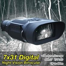 Best price Tactical 12 Language Infrared Illuminator Digital 400M 3.5 to 7X Magnification Hunting Night Vision Scope Binocular  HS27-0023