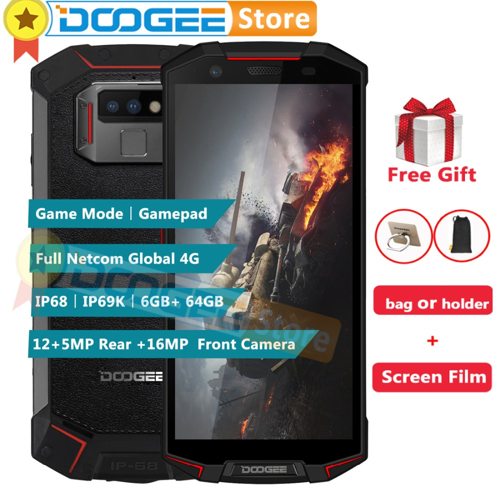 DOOGEE S70 6GB 64GB Global Dual 4G IP68 Game Phone Android 8 1 5 99 Helio