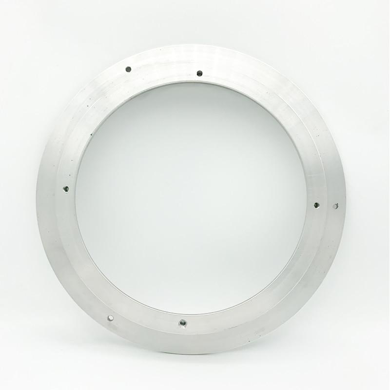 Univeral 2 шт. 6,5 дюйма Динамик крепление для Vw Динамик адаптер пластин Кронштейн кольцо коврик Алюминий сплава изменить 8 ''до 6,5''