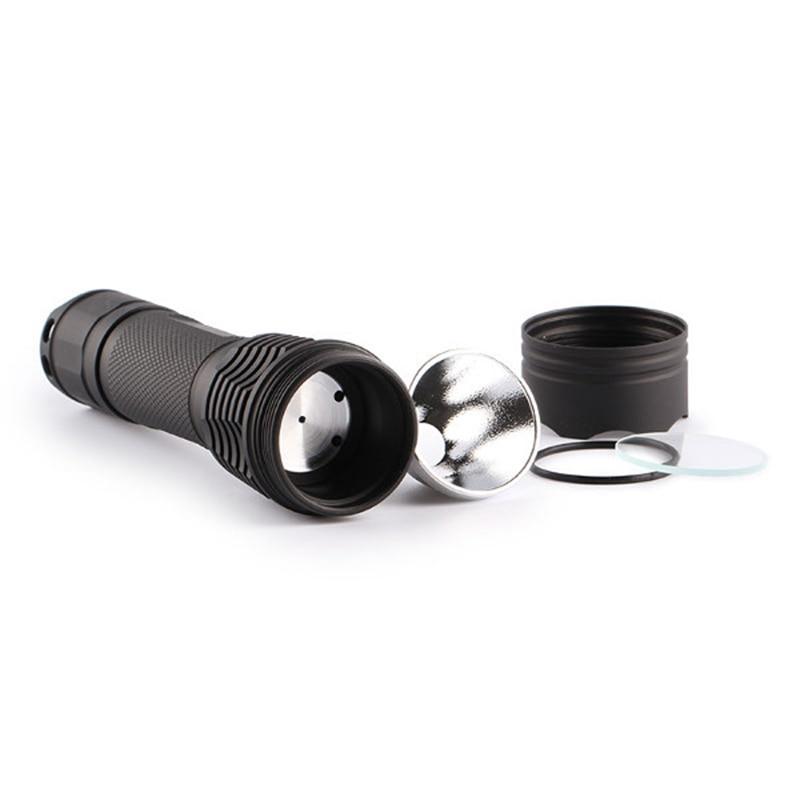 Aluminum Alloy M1 NEW Version DIY Integrated Head LED Flashlight Host