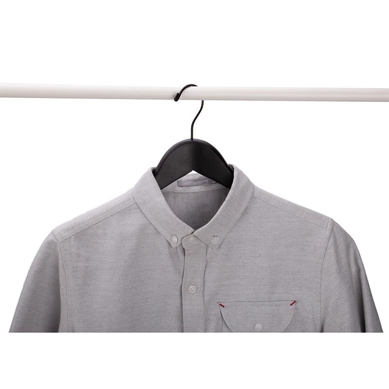 50 vnt / lotas, prabangus storas juodos medienos paltai drabužių - Organizavimas ir saugojimas namuose - Nuotrauka 3