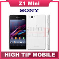 """Оригинальный разблокированный Sony Xperia Z1 Компактный GSM 3G и 4G Android четырехядерный Z1 мини 4.3 """"20.7MP WIFI 16GB rom D5503 Восстановленный телефон"""