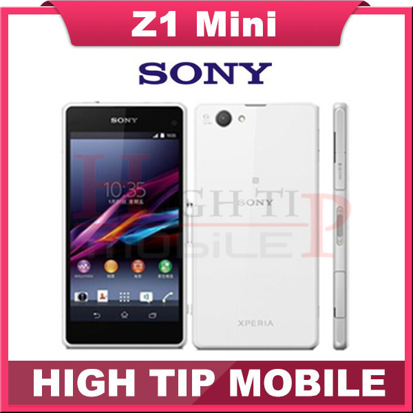 Original Unlocked Sony Xperia Z1 Compact GSM 3G 4G Android Quad Core Z1 mini 4 3
