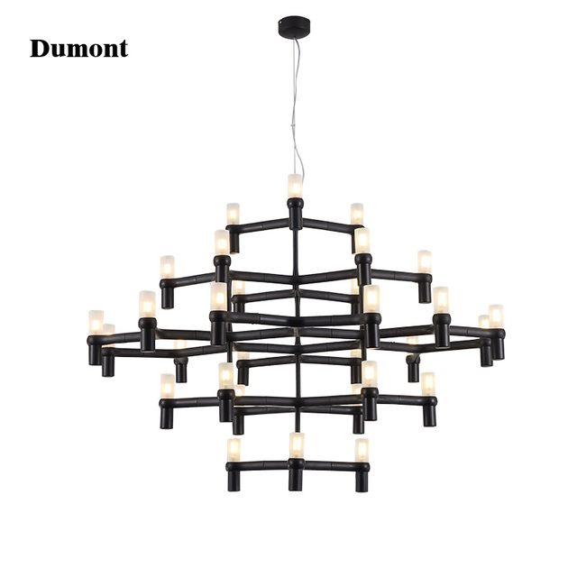Crown Nemo Minor Chandelier Postmodern Art Lighting For Hotel Living Room Bedroom Lobby Villa Stairs