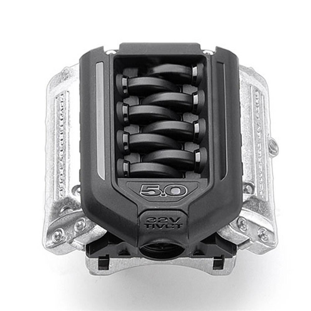 F11 V8 Simulation Engine Radiator Motor Fan for 1//10 TRAXXAS TRX-4 RC Crawler