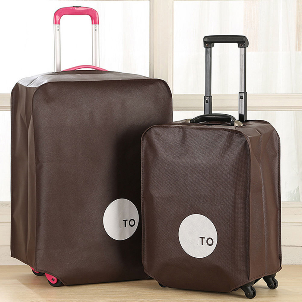20 24 28 inch Luggage Protective Cover Trolley Suitcase Solid Color Dust Bags Case Travel Accessories Supplies