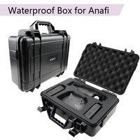 Handheld Parrot Anafi Waterproof Safety Box Portable Hardshell Suitcase Protection Storage Bag Battery Controller Charger Case
