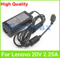 20V 2.25A 45W Laptop Ac Adapter Charger for Lenovo IdeaPad S20-30 E10-30 S210 S210T S215 Touch Miix2 11 ADLX45NLC3 ADLX45NDC3A