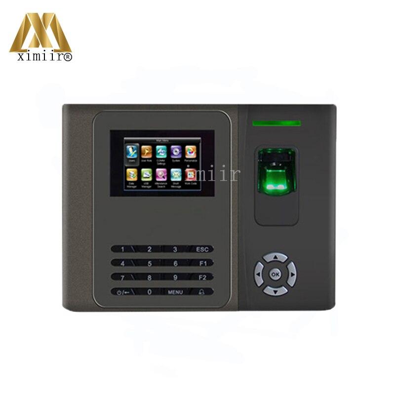 Hot Sale Fingerprint Time Attendance Fingerprint Reader Linux System TCP/IP Biometric Time Recorder XM200