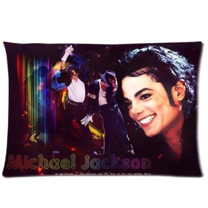 LUQI Customized Michael Jackson heal the world Pillow cases 50x75 CM Pillow Cover Best Bed Sheets