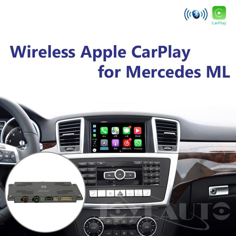 Joyeauto Wireless Car play for Mercedes ML class W166 2012 2015 NTG4 5 4 7 Apple