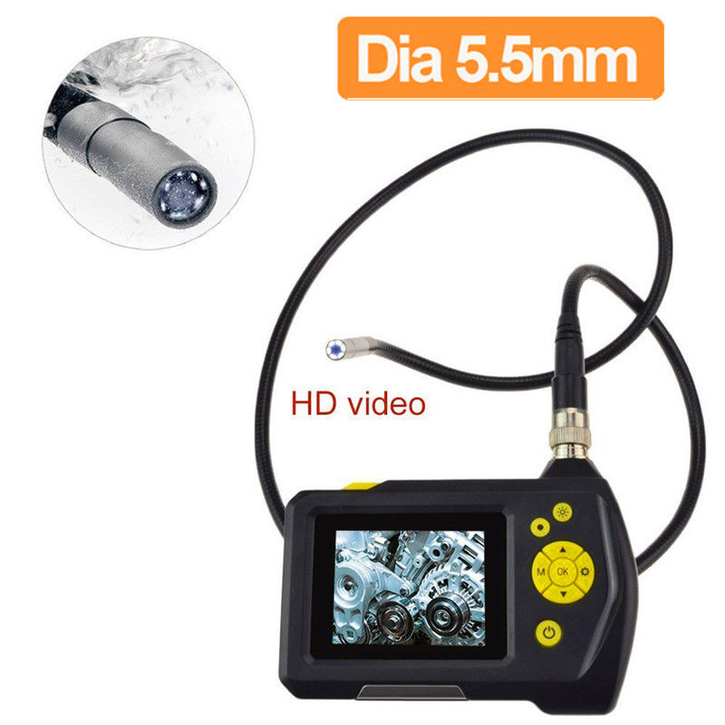 Blueskysea NTS100 Endoscope 5.5mm Borescope Snake Inspection Camera DVR 3 Meter Tube Cable eyoyo nts100 dia 8 2mm 2 7 lcd nts100 endoscope borescope snake inspection 1m tube camera dvr