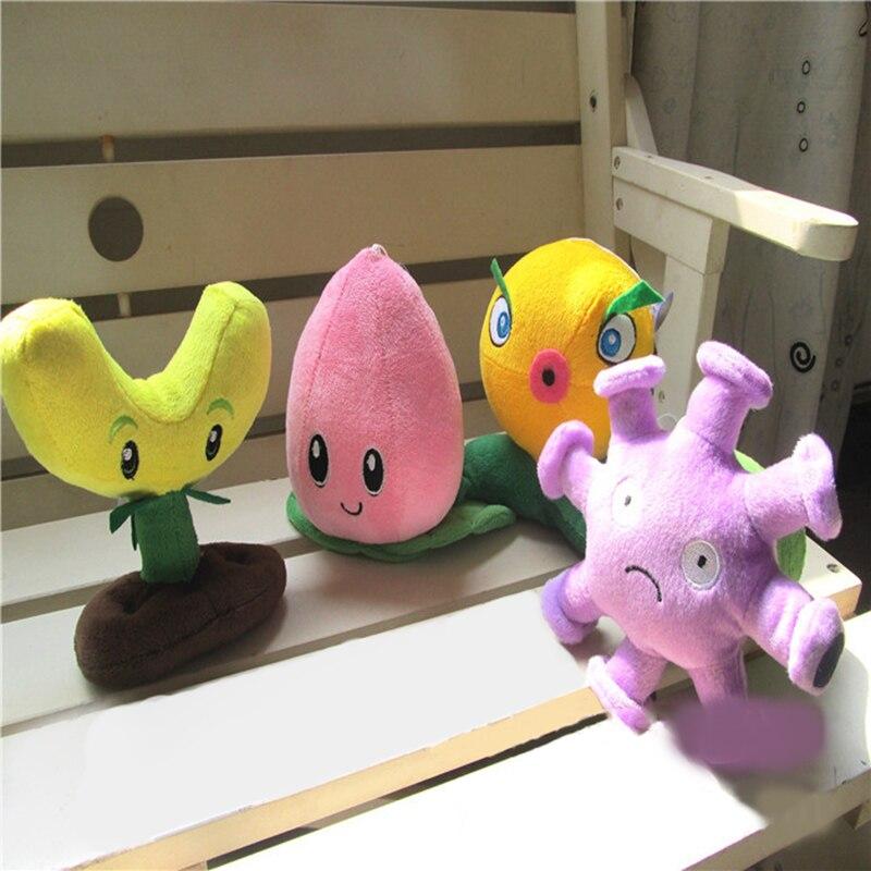 2016 Hot Game Plants vs Zombies Plush Toys Stuffed Vivid image Mini Soft Plush Doll Figure Toy for Kids Children Gift M41-48