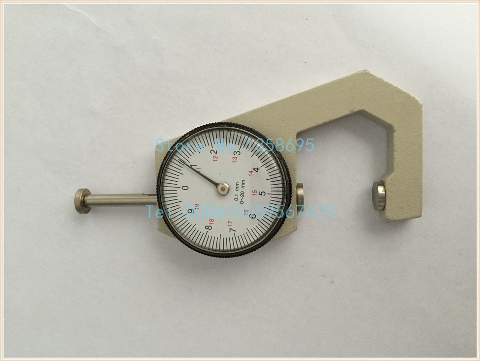 caliper thickness gauge ,mini gold dial 0.1-10mm jewelry thickness gauge