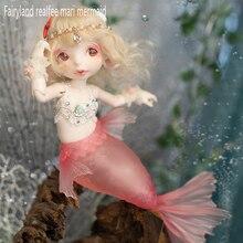 OUENEIFS Fairyland realfee Mari sirena 1/7 bjd sd modelo muñecas reborn niñas ojos juguetes de Alta Calidad tienda de maquillaje resina
